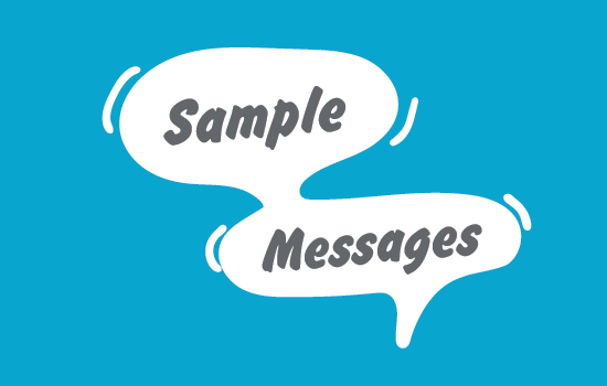 SampleAudienceMessages