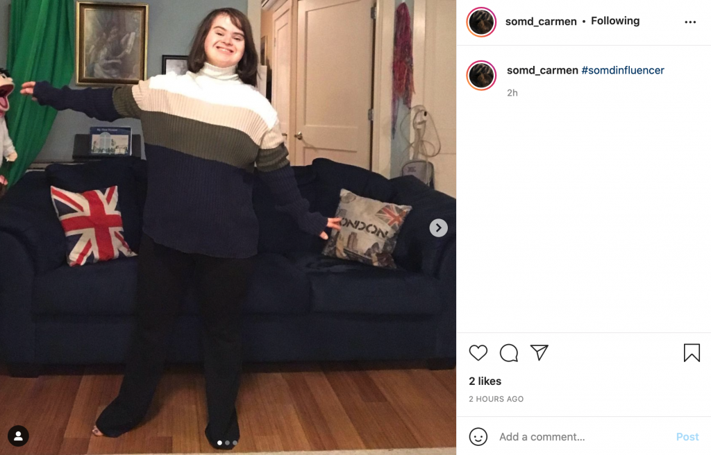 Carmen Houston-Ludlam shares an outfit that she re-created on Instagram that was based off one of her celebrities favorite outfits!